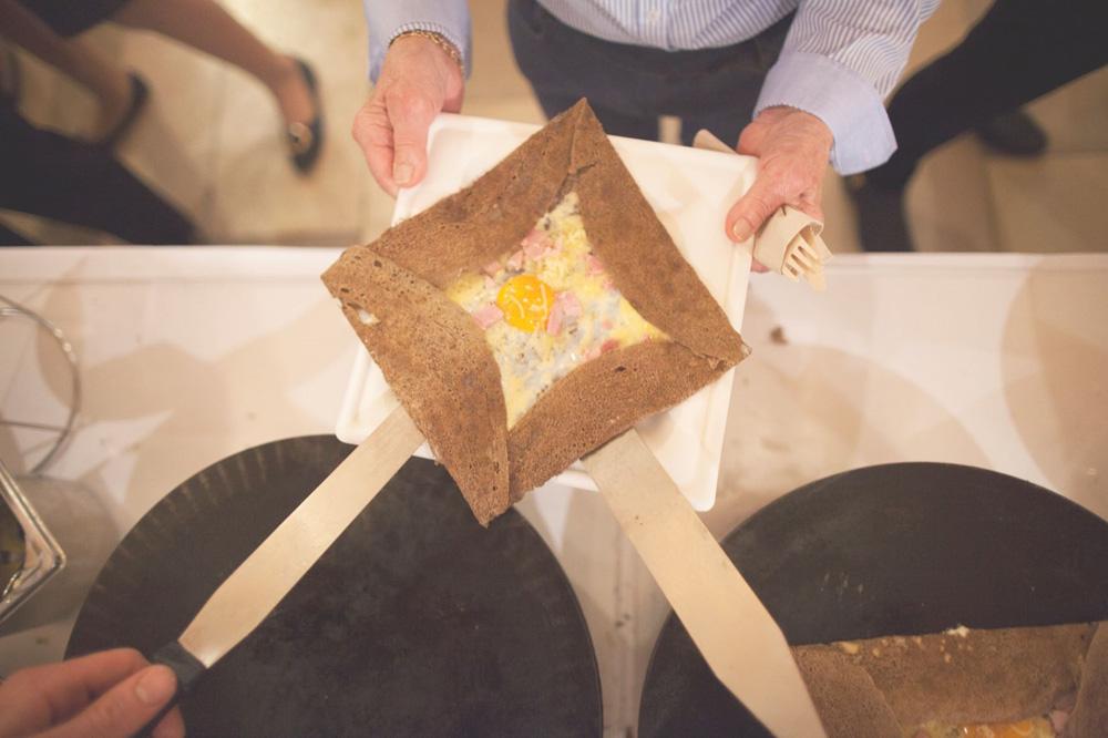 Galette à la farine de sarrasin bio